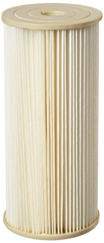 Pentek ECP1-BB Pleated Cellulose Polyester Filter Cartridge, 9-3/4