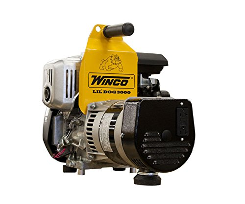 Winco W300H Industrial Portable Generator, 3,000W Maximum, 71 lb.
