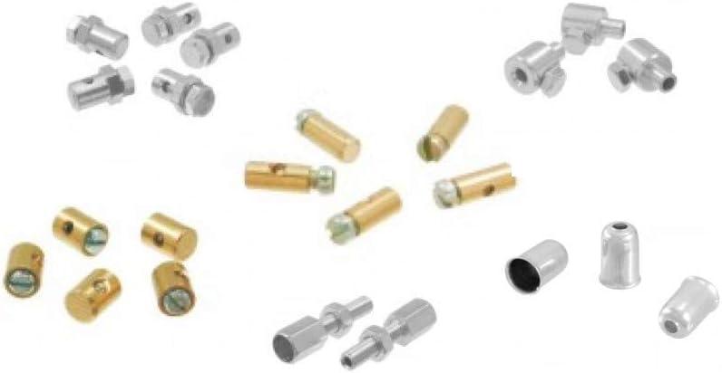 Seilzug Nippel Schraubnippel Reparatur Set Für Vespa Universal Auto