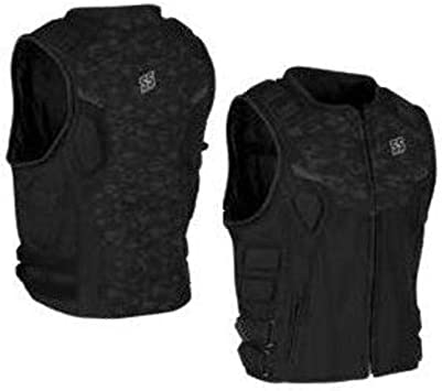 Camo//Black 2X-Large 880111-TR Speed and Strength Critical Mass Armored Mens MX Motorcycle Vest