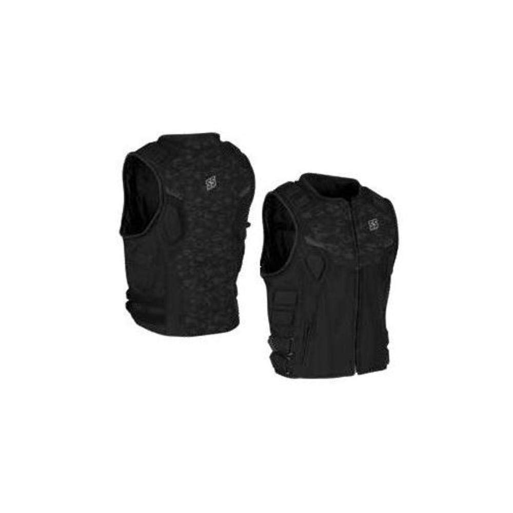 Speed and Strength Critical Mass Armored Mens MX Motorcycle Vest Camo//Black 2X-Large