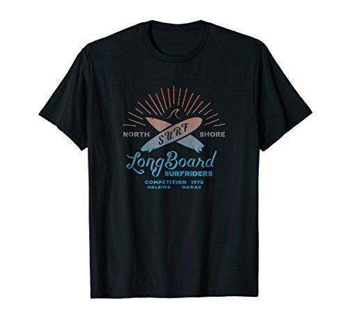 Retro North Shore Longboard Surf 1978 T-Shirt