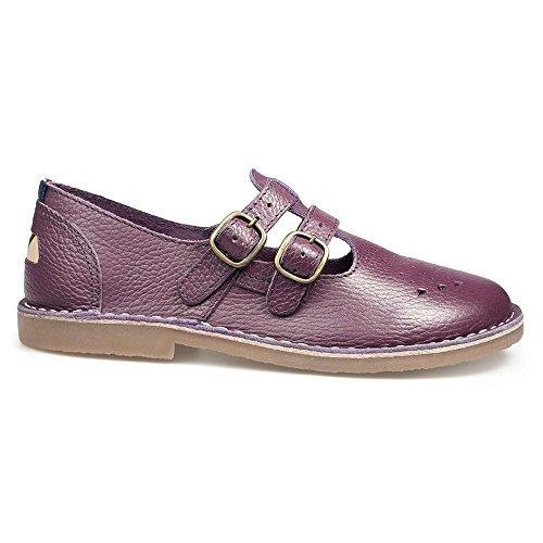 Womens Purple 2 Sandals Pod Plum Leather Strap Marley CH6qxTSwZ