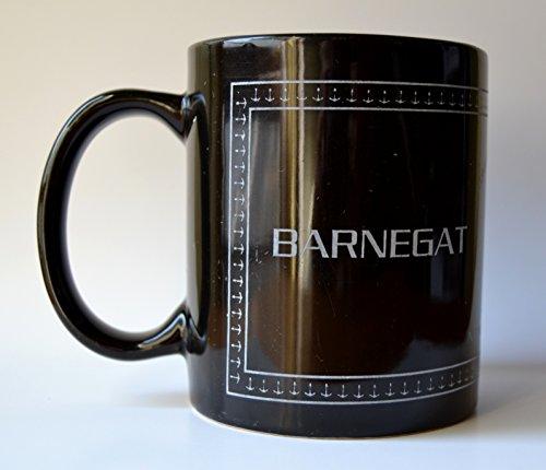 Barnegat Lighthouse, Long Beach Island, New Jersey Black Mug ()