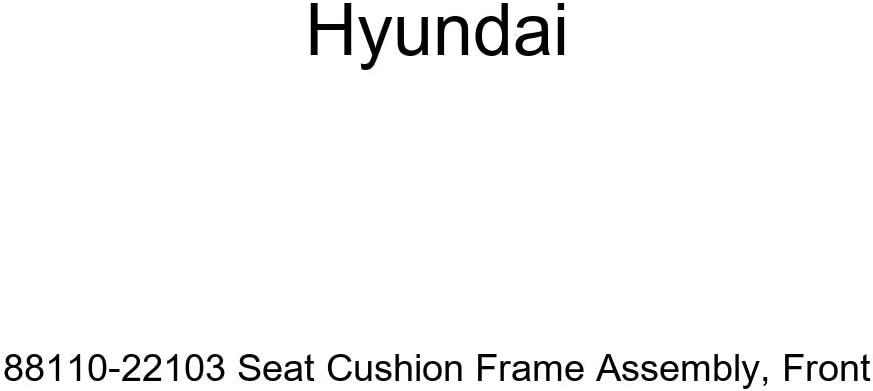 Front Genuine Hyundai 88110-22103 Seat Cushion Frame Assembly