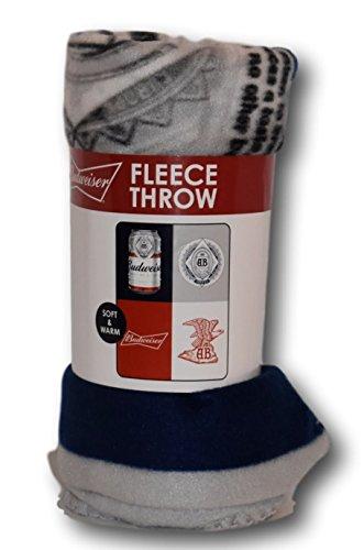 Budweiser Throw (Budweiser Fleece Throw)