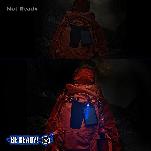 Be Ready Blue Glow Sticks - Industrial Grade 8+ Hours Illumination Emergency Safety Chemical Light Glow Sticks (24 Pack) by Windy City Novelties (Image #5)
