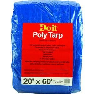 Med Duty Tarp (Do it Best GS Tarps - 20X60 Blue Med Duty Tarp)