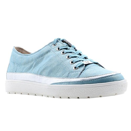 con 28 para 9 mujer Zapatillas Caprice cordones 23654 Blau wSBqEI