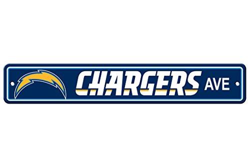 - JTD Enterprises NFL San Diego Chargers Street Sign