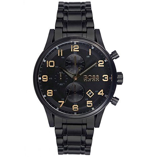 HUGO BOSS 1513275 MEN'S CHRONOGRAPH WATCH BLACK