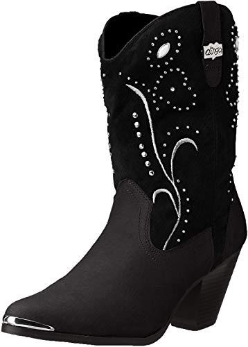 Dingo Women's Ava Western Boot,Black,6.5 M US