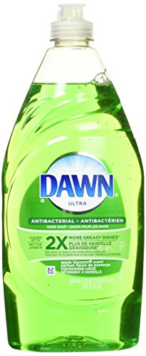 Dawn Ultra Dishwashing Liquid Dish Soap, Antibacterial Apple Blossom, 21.6 oz (Pack (Dawn Liquid Dish Soap)