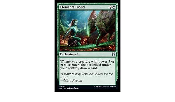 Commander 2019 Elemental Bond Magic The Gathering