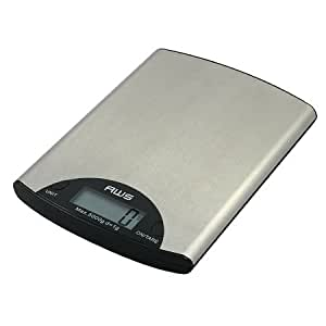 American Weigh Compact Digital Kitchen Scale 5000 Grams 1.0 ea