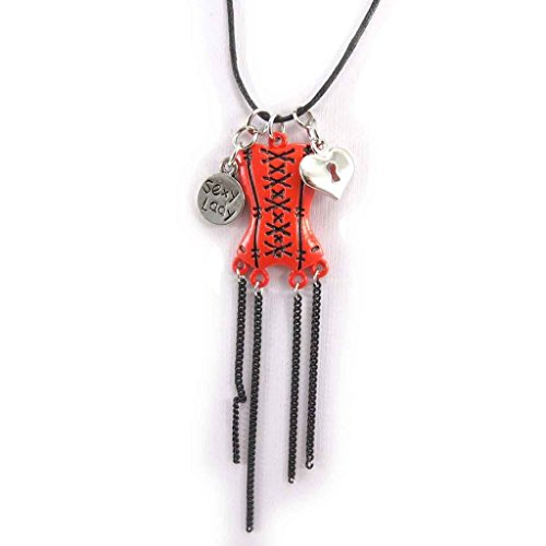 Les Tresors De Lily Necklace 'french touch' 'French Cancan' -