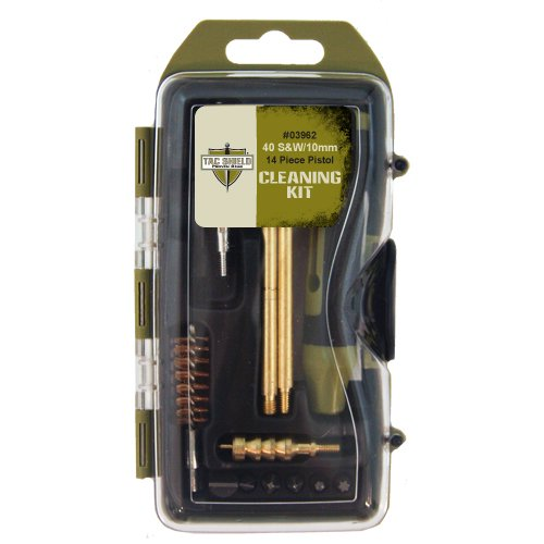 40 Caliber Handgun (TAC SHIELD 40-Calibre/10mm Pistol Cleaning Kit (14-Piece))
