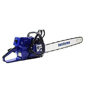 Farmertec 71cc Holzfforma Blue Thunder G444 Gasoline Chain Saw Power Head WT 3/8 .063 28inch 92 DL Guide Bar and 3/8…