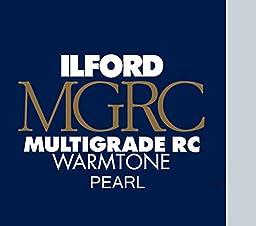 Ilford Multigrade Ivrc Pearl Warmtone Deluxe 20.3x25.4 (8x10) 100 Sheets