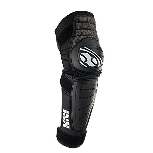 IXS Cleaver Knee/Shin Guards black (Size: XL) leg protector by IXS