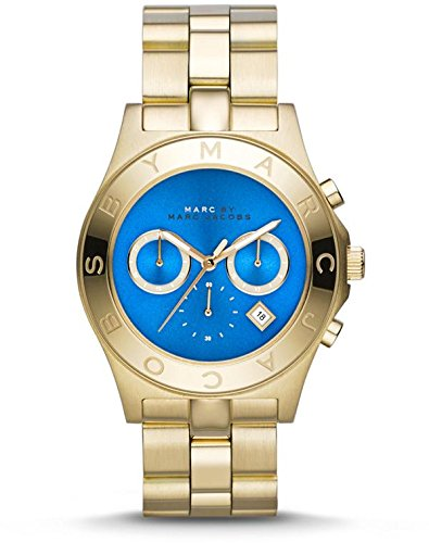 MBM3307 Marc By Marc Jacobs Blade Gold-Tone Chronograph Ladies Watch
