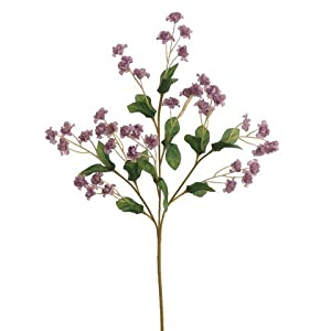 "19"" Silk Double Baby's Breath Flower Spray -2 Tone Lavender (pack of 24) 40"