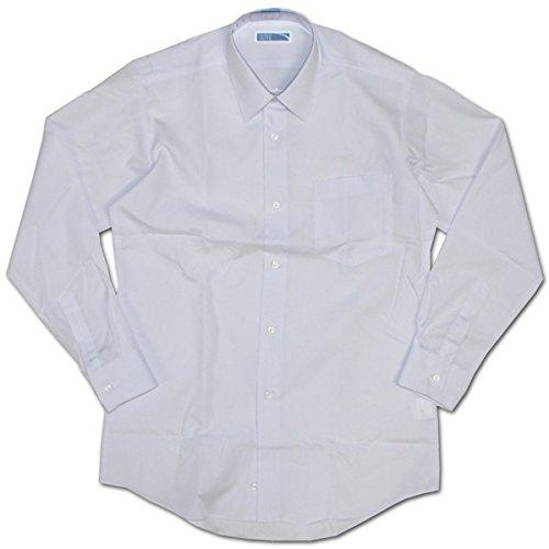 把握自宅でフェザー明石被服興業 MIND NOTE 形態安定メンズ長袖スクールワイシャツ