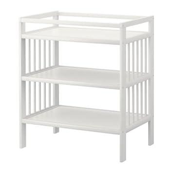 Ikea Wickeltisch ikea gulliver wickeltisch weiß amazon de küche haushalt