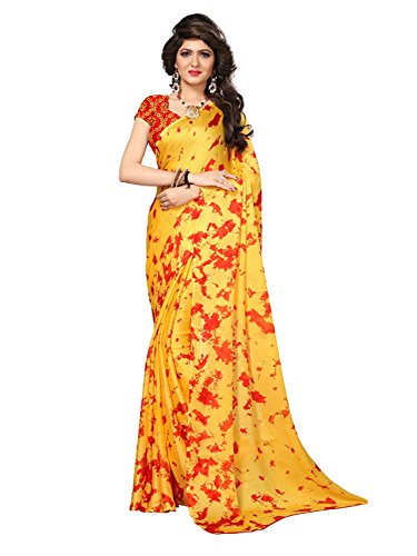 Saree Indian Women's Silk Handicrfats Kanchnar Poly Export Wear For Jacquard Traditional r0qFaOx0w
