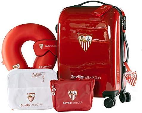 Sevilla Fútbol Club - Pack de Viaje Maleta y Accesorios - Producto ...