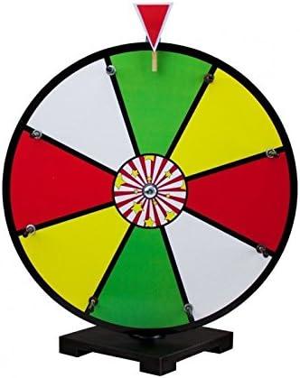 Spinning premio Spinning Wheel, 40,6 cm 8 ranuras Color cuadro ...