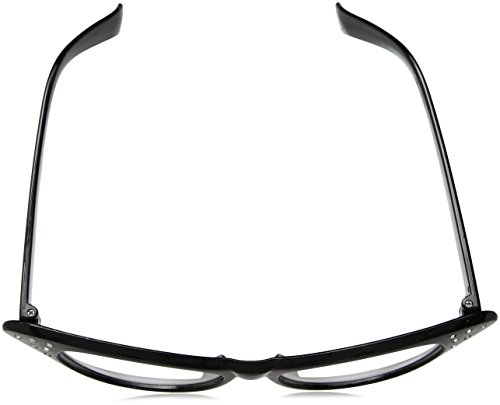 97cca4c6ef7f Hip Hop 50s Shop Womens Cat Eye Rhinestone Glasses