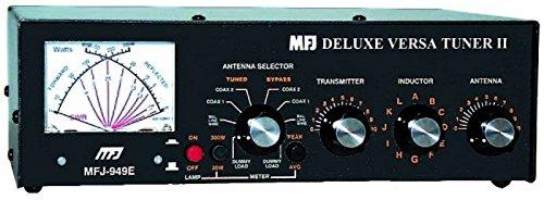 MFJ Enterprises Original MFJ-949E 1.8-30 MHz 300 Watt Deluxe Versa Tuner II Antenna Tuner by MFJ