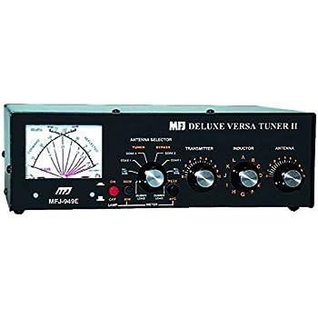 MFJ-969 Amateur Radio Deluxe HF Antenna Tuner w//Built-in 4:1 Balun 300W 6-160 Meters