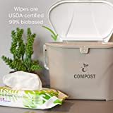Earth Rated Dog Wipes, Plant-Based and Compostable