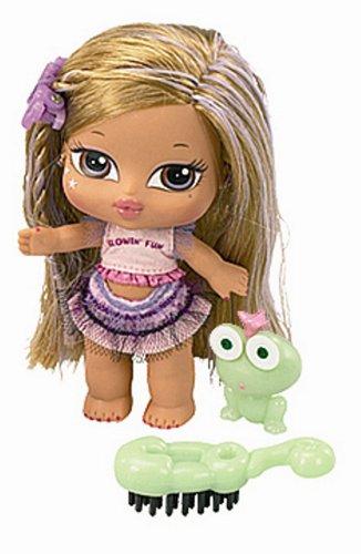 MGA Babyz Hair Flair Glow in The Dark Yasmin (Bratz Baby Dolls)