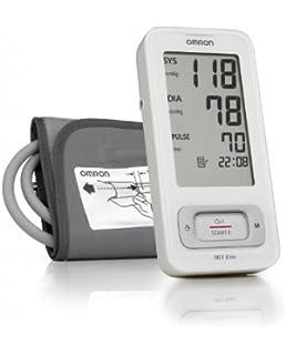 OMRON MIT Elite - Tensiómetro de brazo, detección del pulso arrítmico, tecnología Intellisense para