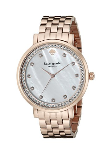 kate spade new york Women's 1YRU0822 Monterey Analog Display Japanese Quartz Rose Gold Watch