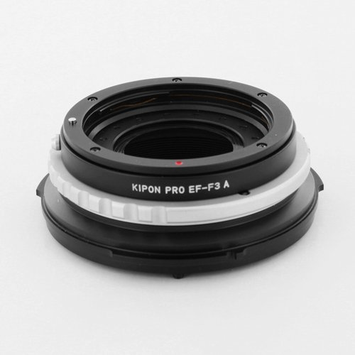 Kipon Canon EF Mount Lens to F3 Camera Body Adapter with Aperature Ring by Kipon