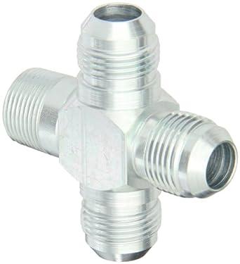 "6 JIC Adapter Eaton Aeroquip Steel Pipe to JIC 1//4/"" NPT To"