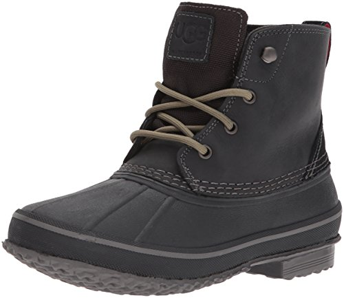 UGG Men's Zetik Winter Boot, Black, 10.5 M US