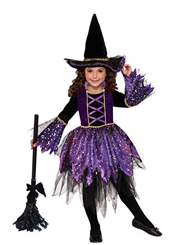 Forum Novelties Child's Mystic Amethyst Witch Costume, Medium -