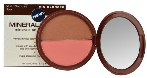 Mineral Fusion Blush-Bronzer Duo Rio Blonzer -- 0.29 oz - 2pc by