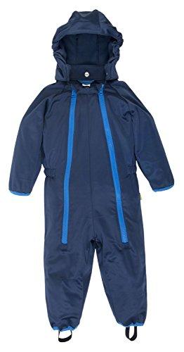 Baby Softshell Overall von be baby! (Wassersäule: 10.000 mm), dunkelblau, Gr. 74-80