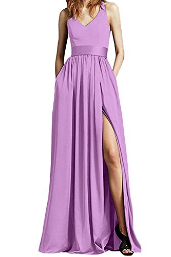 Kleid Beauty of Damen Leader Linie A Lilac the 1SZBxY