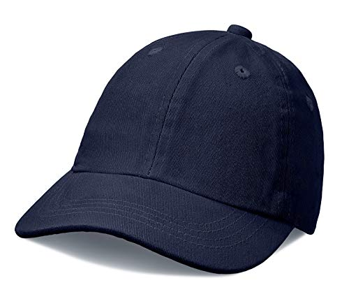 City Threads Baby Solid Baseball Hat Sun Protection SPF Beach Summer - Navy - ()