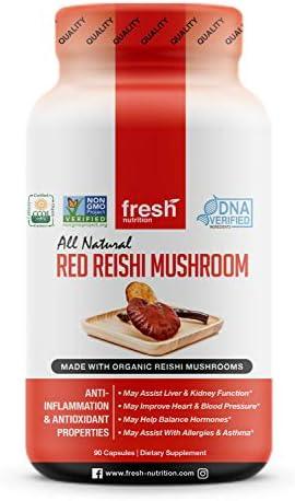 Organic Reishi Mushroom Capsule