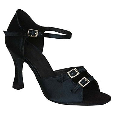Personalizables No Otro Stiletto Latino Tacón Marrón de baile Negro black Salsa de Samba Zapatos Zapatos Swing H6q7PUP