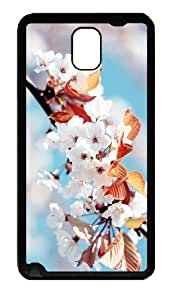 shop covers Cherry Blossoms TPU Black case/cover for samsung galaxy note 3 N9000