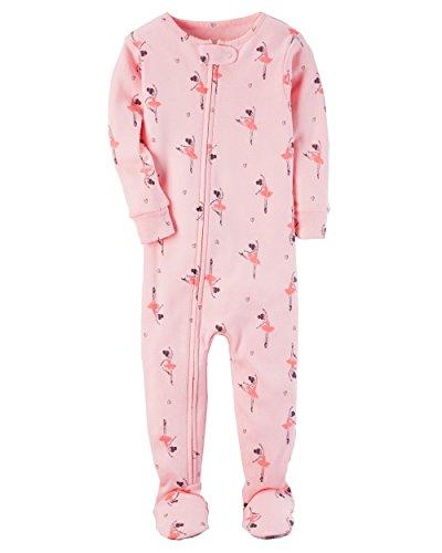 Carter's Baby Girls' 12M-4T One Piece Ballerina Pajamas 2T